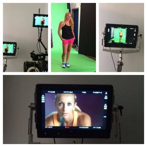 Had lots of fun doing the shoot this afternoon with @AllaK11 #wta #doubles http://t.co/mRE7xWh2Gb