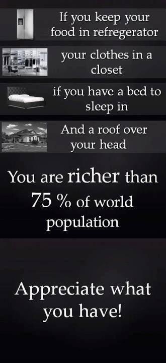 Appreciate what you have! http://t.co/hoBlltgxGc