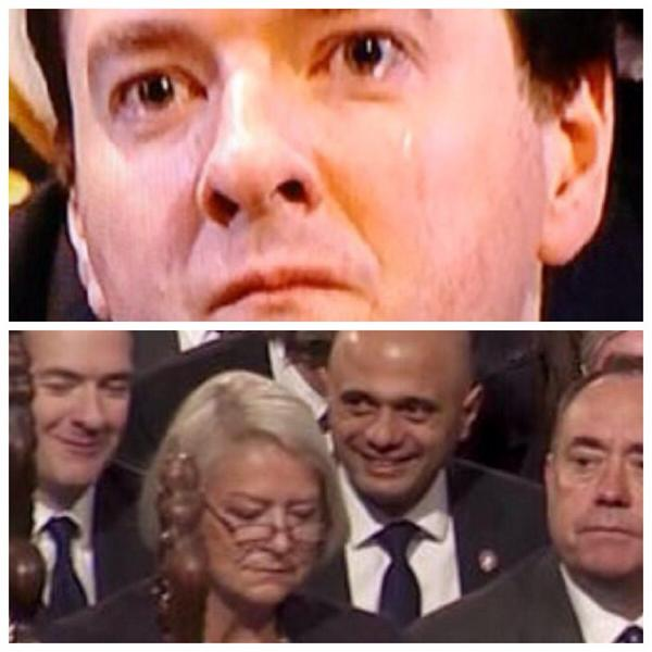 Tears at Thatcher's funeral, giggles at WW1 service for the war dead. All you need to know about Tories right there http://t.co/fS7wLPhwgd