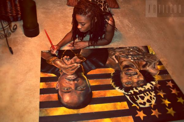 finished painting @BigBoi & Andre 3000 . http://t.co/RXFlggcRn2