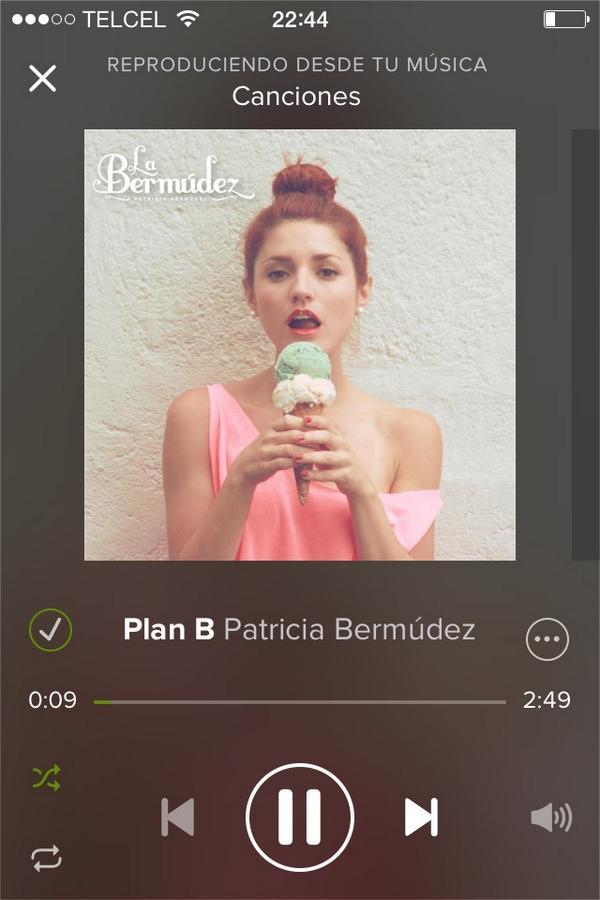 Soy tu plan B!! @LaBermudez