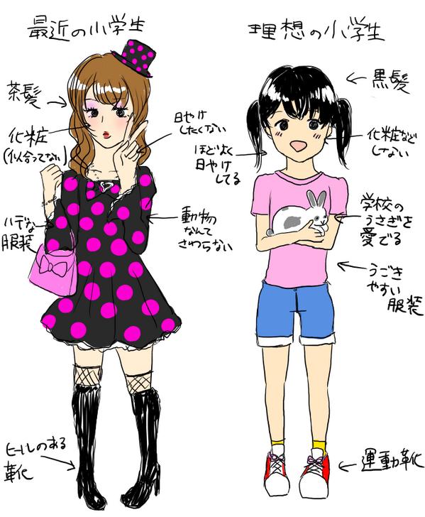 【画像】 昭和の小学女児と最近の小学女児の画像が話題 これマジ?昔に戻りたい [692141681]YouTube動画>2本 ->画像>51枚