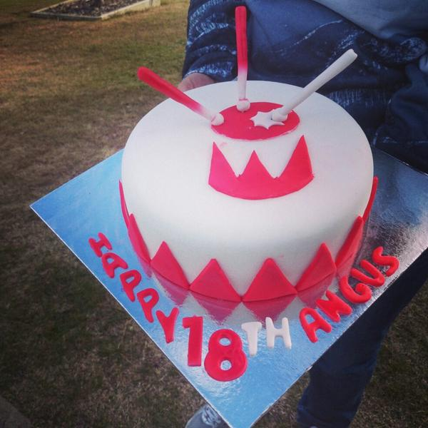 Attn Chimichangus Rt Megaradioshow Best Birthday Cake In The World