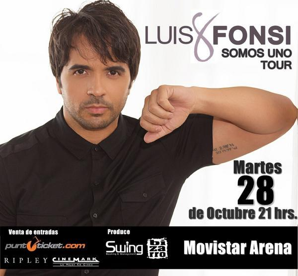 ¡Concierto de @LuisFonsi en #Chile! Compra ya tu entrada!! http://t.co/LsO42b4T6d http://t.co/KWcWG2TeTO