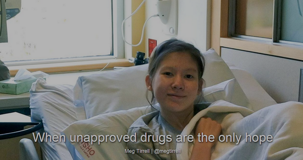 When unapproved drugs are the only hope - Nathalie Traller's story via @megtirrell http://t.co/CDTEmwRBMF http://t.co/6GjxWQ7YG7