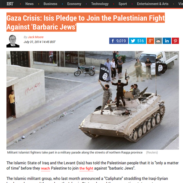 The moment you realize that Hamas and ISIS are the same thing. http://t.co/AXDhO5Kirw