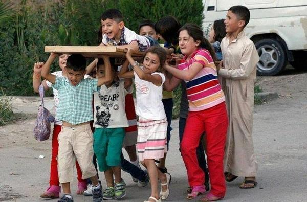 #PHOTO: When death becomes child's play in #Gaza - via @MohamedElBurai http://t.co/PuowcN0c9Y