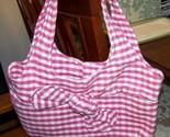 #pretty Pink & White Checked Cloth Purse Handbag Made in USA, Free USA Ship http://t.co/MBT08mLYaJ  @TXGulfCoastShop http://t.co/IyMtgpX5DC