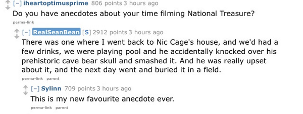 Sean Bean x Nic Cage: http://t.co/c0mY2AkuFi