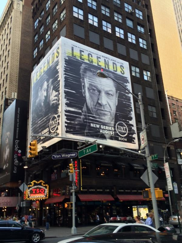 Check it out! Times Square #DontKillSeanBean @LegendsTNT http://t.co/Rl5IbszGXh