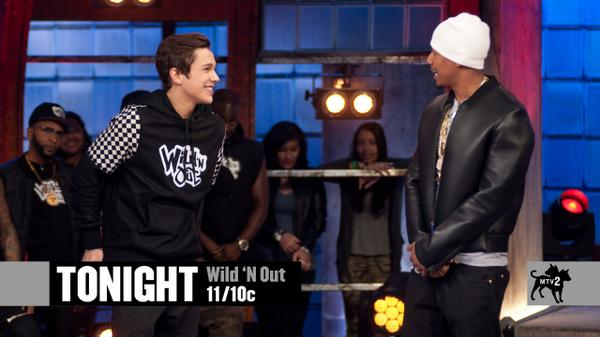 See if @AustinMahone can take @NickCannon's Comedy Championship Belt 2nite at 11/10c on an all-new #WildNOut! http://t.co/6RbFE0tOwr