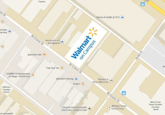 """Walmart on Campus"" coming to VCU 