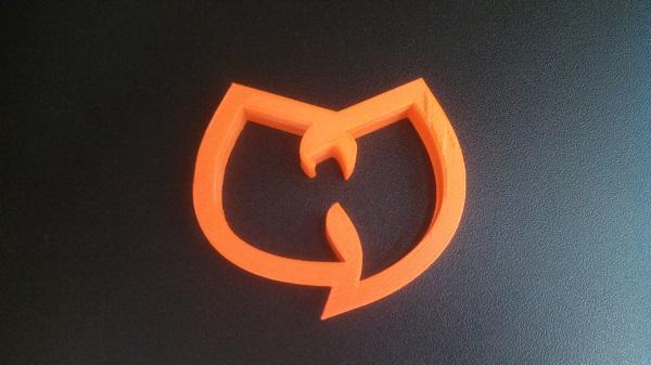 fresh from the #3dprinter: a @WuTangClan cookie cutter. I'm told the design is perfect; ain't nothing to fudge with http://t.co/JhQA6Kb5DQ