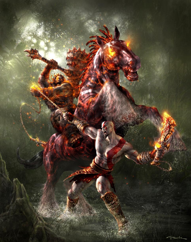 God of War par Andy Park #kratos #GOW #godofwar http://t.co/zWTKwXHhHd