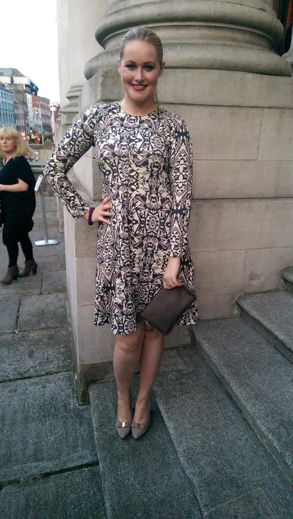 Thank you to @ArnottsDublin for this fabulous M Missoni dress for the @DublinFashion launch #love http://t.co/h9t6Sv0wvp