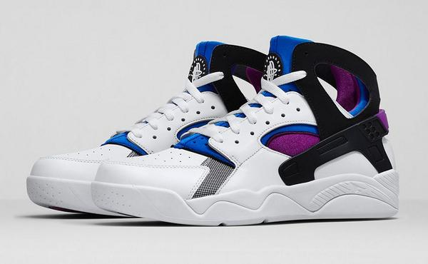 The nike air flight huarache 'bold berry' launches tomorrow online