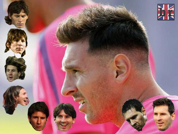 HD wallpapers messi hairstyle evolution