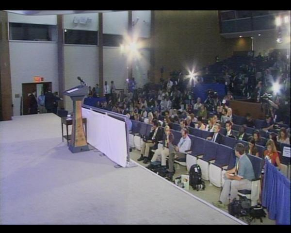 dean acheson auditorium  some empty seats at the dean