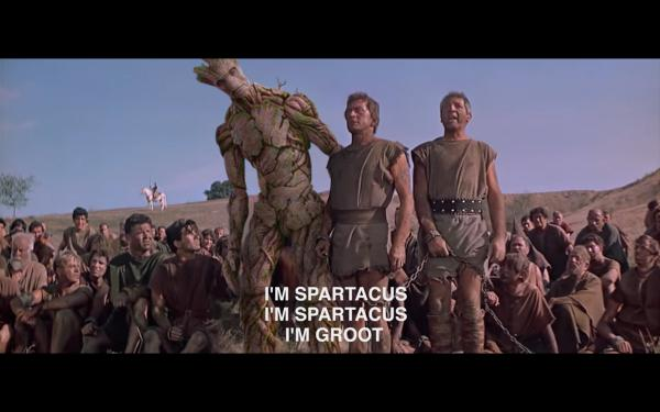 #Groot in Spartacus... #GuardiansOfTheGalaxy http://t.co/HjGFr70spj