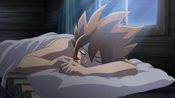 おハーモニー。朝だぞ。十分朝だ。起きろ。起きてくれ。起きてお前のメロディを奏でてくれ。起きろって。/バナ隊長#ガイストク