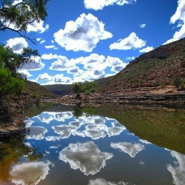 Murchison River Gorge, Kalbarri National Park. Photo by @tjayliffe (via IG) http://t.co/tadXDTygUI