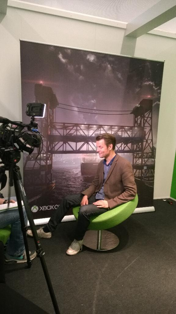 Following the gameplay debut of Quantum Break at gamescom, @SamLakeRMD and @remedygames are in high demand! http://t.co/VuplDhV5j0