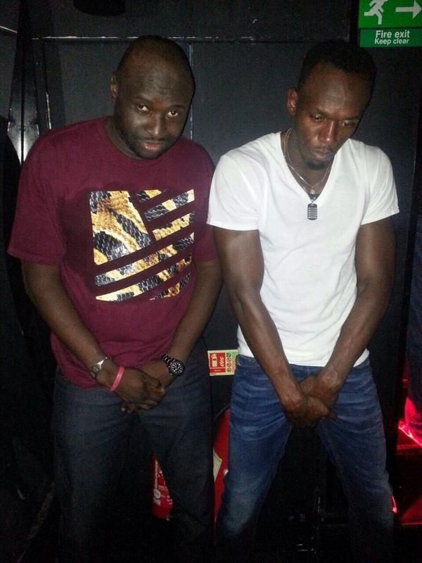 I'm #FeelingNuts with @usainbolt @Check_One_Two. I challenge you @youngy18 to top my crotch grab. http://t.co/Iixn6Dzsvh