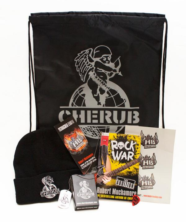 Giveaway time! RT b4 midnight to win this fab CHERUB goody bag to celebrate the release of LONE WOLF (UK/EIRE only) http://t.co/1pYalP47yq