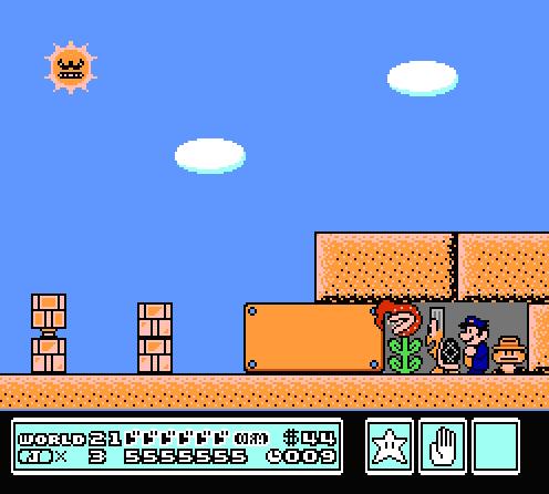 スーパーマリオクルセイダース3 VS太陽 #ジョジョ