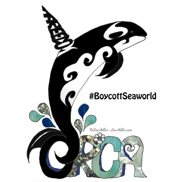 Orca Freedom #boycottseaworld #loveallbeings #Orca #vegan #animalrights #love #freedom #blackfish https://t.co/ZajPqRSlNd