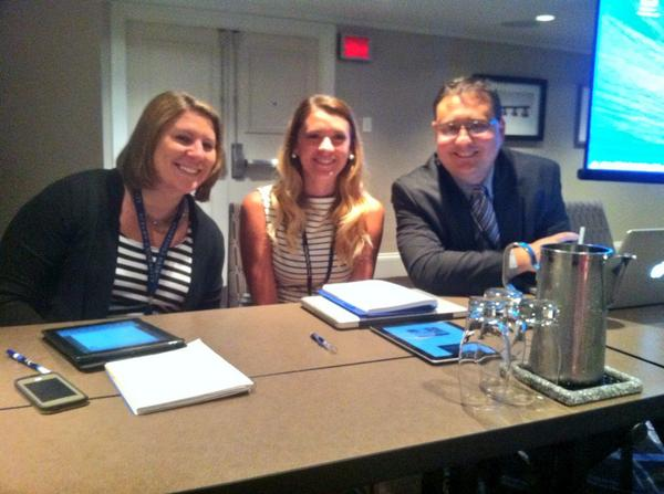 RT @ItsMeAnnelie: .So happy to be presenting in the same session as @Jimmy_Sanderson and @LaurnSmith #aejmc14 http://t.co/ulBOVc7KQT