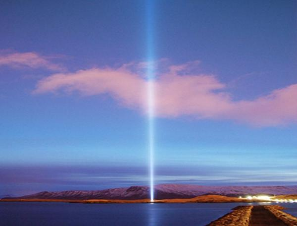 Yoko Ono will light the Imagine Peace Tower in #Iceland tonight! http://t.co/92bEbeY3Ss @IPTower http://t.co/rkuHh3q3wL