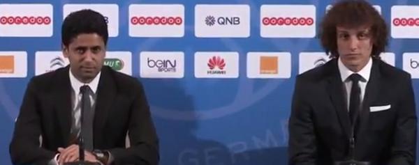 Bud0TCOCMAARz6v Good One! PSG President Nasser introduces David Luiz as The best defender in the world [Video]