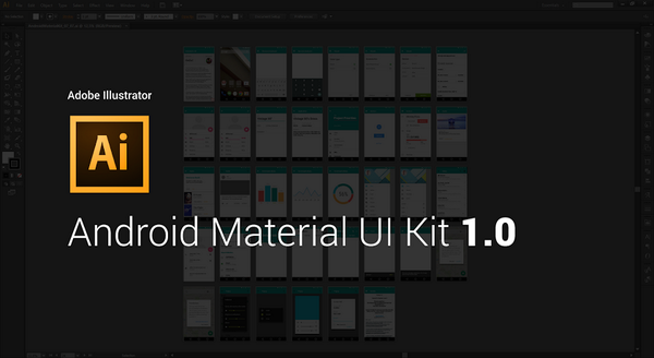Here is the first version of #Android Material #Illustrator Kit. http://t.co/x39B4cRSp9 #AndroidDev http://t.co/KClOqeMB7a