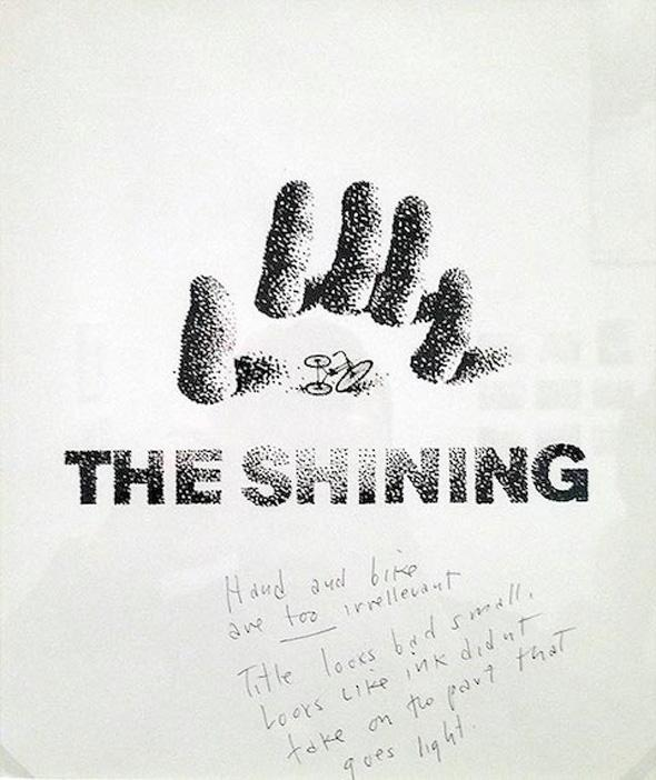 Look at These Saul Bass Posters for 'The Shining' Rejected by Kubrick http://t.co/yy56q0EiWT http://t.co/XepYMB6GRm