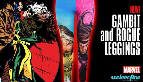 OMGOMGOMG #Marvel Gambit & Rogue leggings from @welovefine!!! http://t.co/orBMSdXBgv http://t.co/8lXFljjdR1