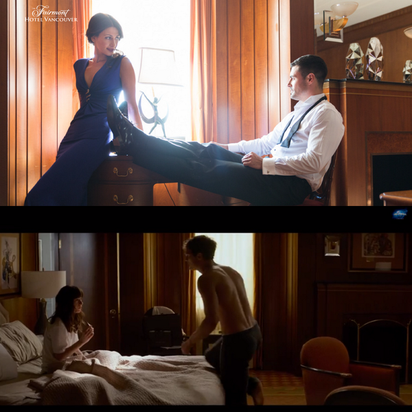 One of our signature suites served as the backdrop for scenes from the 50 Shades of Grey trailer! #FiftyShades http://t.co/zeT2vAfTZ1