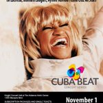 RT @LiliEstefan: Azúcarrrr ???????????? @CeliaCruzLegacy: The Music of Celia Cruz Saturday, Nov 1st at the Adrienne Arsht Center #Miami http://t.co/svZJHvW9Td