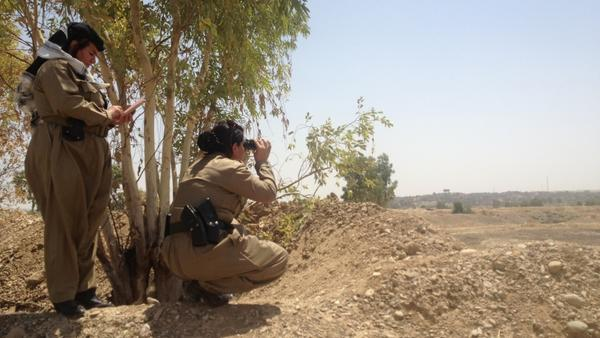 Meet the female colonel leading Kurdish forces into battle against the Islamic State. http://t.co/LufV9qERrY http://t.co/W7gfOLBhmn