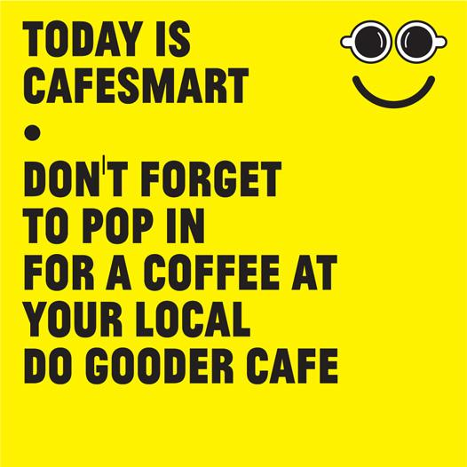 amazing support today for #CafeSmart - thanks everyone for getting out there to #drinkcoffeedogood http://t.co/noocZuDlYK