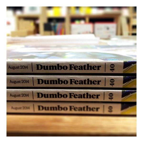 As @dumbofeather celebrate their 10th birthday, issue 40 hits the shelves... http://t.co/IKeXxv0GVm