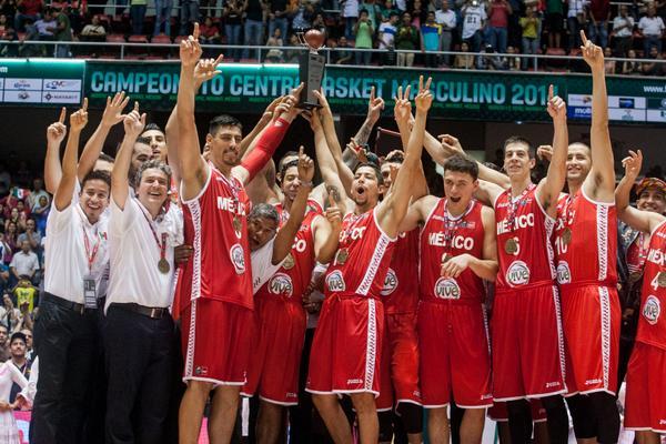 ¡México es el Campeón del #Centrobasket 2014! http://t.co/5XNQhN4z4o