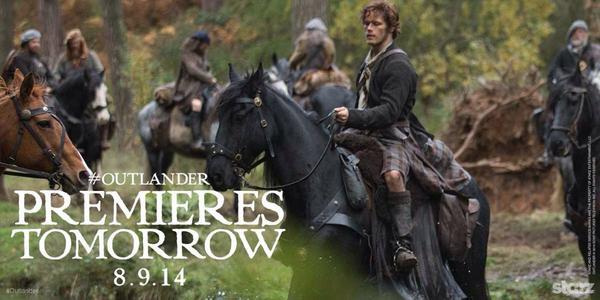 Sam Heughan (@Heughan): What's happening?  Tomorrow.   #outlanderstarz #Outlander http://t.co/NhuewgZrDo
