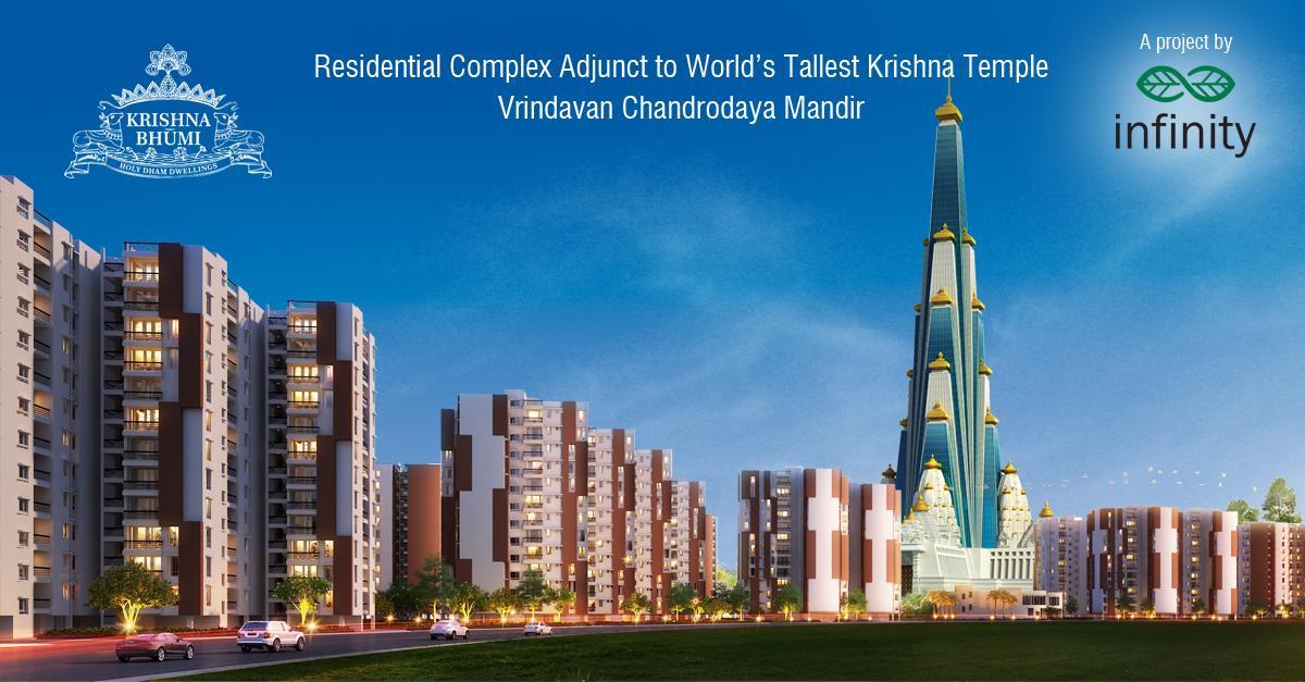@ISKCON_Warsaw Work on the world's tallest Krishna temple at 210 metres will begin on Janmashtami, August 18, 2014 http://t.co/O9MRkGxFsp