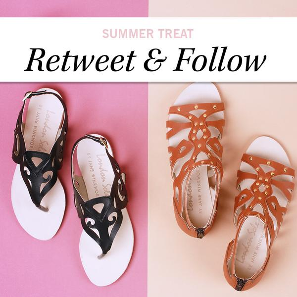 **Win**  RT and Follow @frenchsole & @glossyboxuk for the chance to #win a pair of these iconic gladiator sandals! http://t.co/B8zH3RZa2I