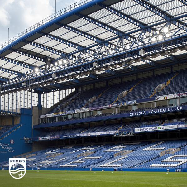 See the flicker-free floodlights of the future @chelseafc #FutureOfLight http://t.co/IBD4iBEUFH