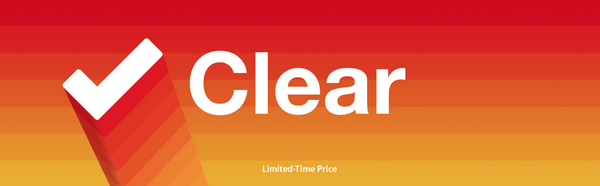 If you've not yet picked up @UseClear for Mac, now would be a good time as it's 50% off - https://t.co/xKk9mEMWfv http://t.co/twLnggsUYz