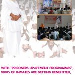 Asaram Bapu Jis Sadhaks celebrate Rakhi fest by conducting Morality programs in jails #वैदिक_रक्षा_बंधन_WithBapuji http://t.co/ALfKMxAnxt