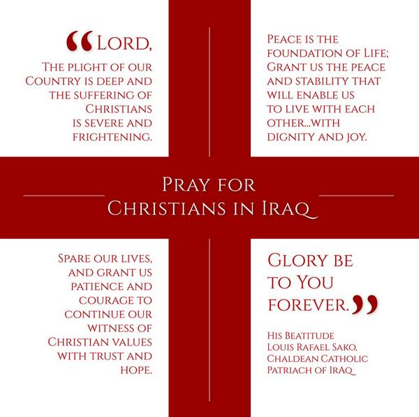 Please join the U.S. bishops and #prayforpeace in Iraq Aug. 17. http://t.co/biuBkg5Pbm