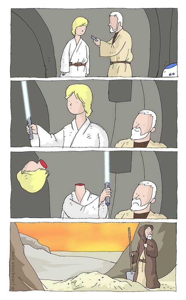 Il a fallu tester quelques Luke avant de trouver le bon... Les premiers n'étaient pas finauds... http://t.co/JIQE7zoACc